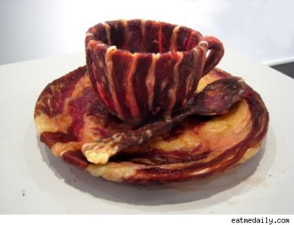 Bacon Teacup from Meat after Meat Joy