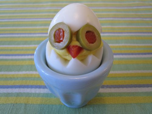 Deviled Egg Chick