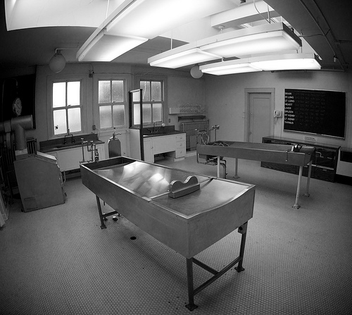 Vancouver Police Museum morgue by John Biehler