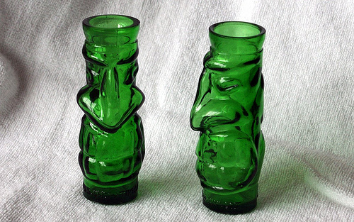 Voodoo Tiki Tequila Shotglasses