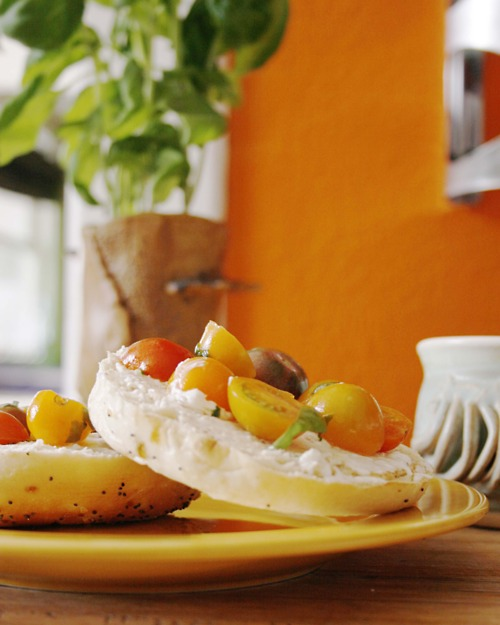 bagel and yellow tomatoes If you're pregnant or considering pregnancy, schedule an appointment with us ...