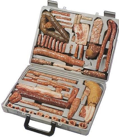 Is that a Bratwurst in your suitcase or are you just happy to see me?